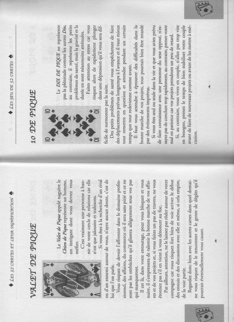 """livre """" votre avenir révélée par la cartomancie """"  Valet_14"""
