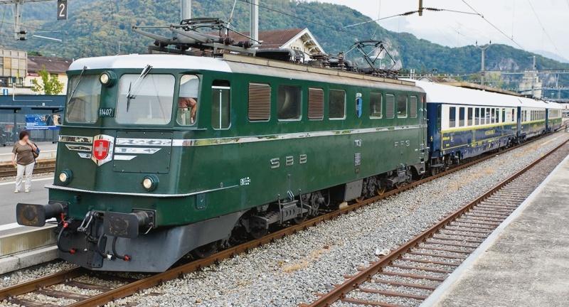 Suisse : Ae 6/6 ( Ae 610 ) ... Ch_ae_11
