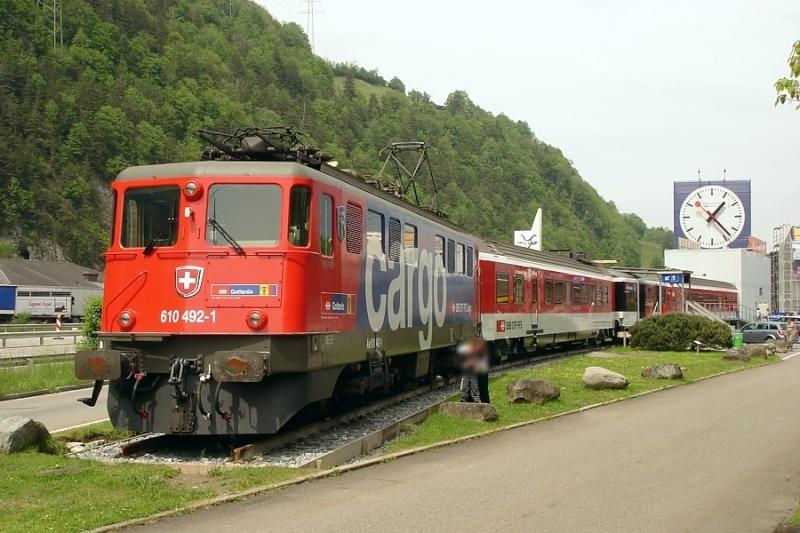 Suisse : Ae 6/6 ( Ae 610 ) ... Ch_ae_16
