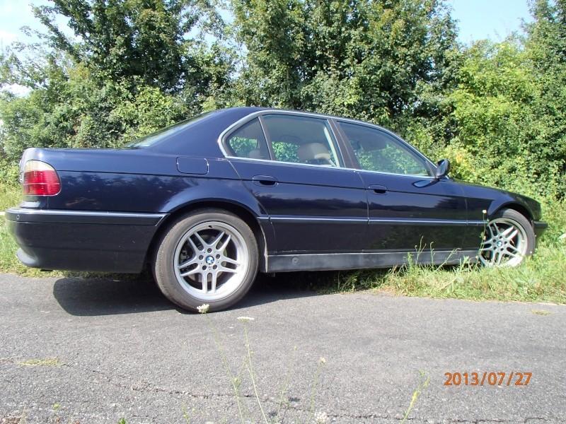 740i bvm6 1994  remis dans son jus P7270112