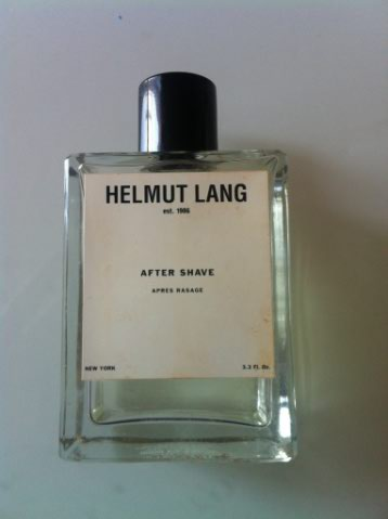 Eau de cologne, after shave Helmut Lang. Helmut10