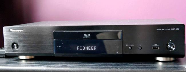 Pioneer BDP-450 3D Bluray Player, HDSir Units, Dual HDMI, Lifetime FW Update,1 YR Warr, 1-1 Exchange 450210