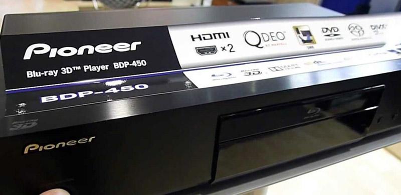 Pioneer BDP-450 3D Bluray Player, HDSir Units, Dual HDMI, Lifetime FW Update,1 YR Warr, 1-1 Exchange 450aa10
