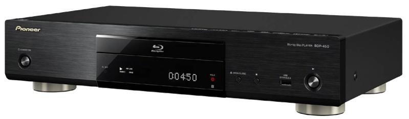 Pioneer BDP-450 3D Bluray Player, HDSir Units, Dual HDMI, Lifetime FW Update,1 YR Warr, 1-1 Exchange 450b10