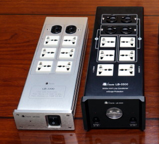 NEW Facelift -Bada LB-5500 Top Model HiFI/AV Power Plant, 1-1 Exchange Warr. NOW with MK Plug Top! Lb550014