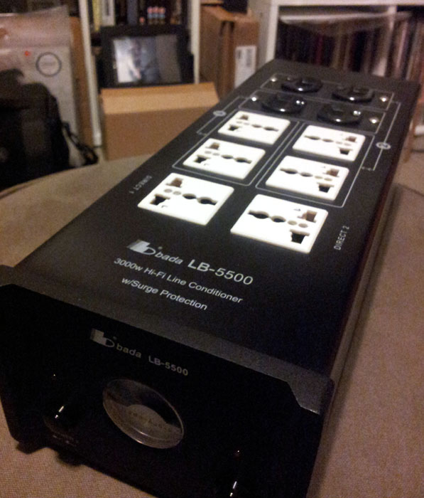 NEW Facelift -Bada LB-5500 Top Model HiFI/AV Power Plant, 1-1 Exchange Warr. NOW with MK Plug Top! Lb55a10