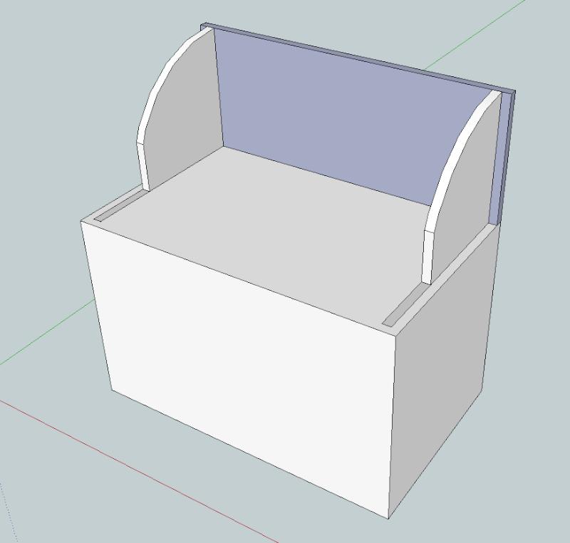 Projet de meuble en bois pour terrasse couverte Captur14
