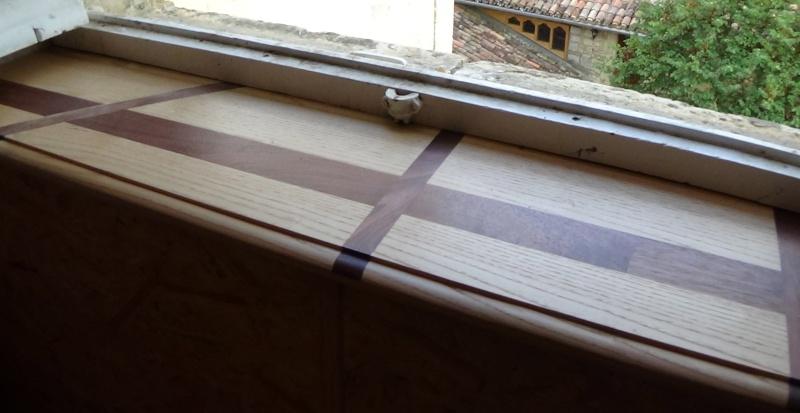 Une tablette de fenêtre contemporaine Dsc00355