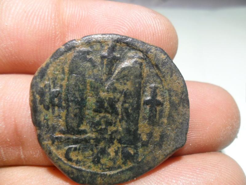 2 follis (40 nummi) de JUSTIN I pour Constantinople Sam_5311