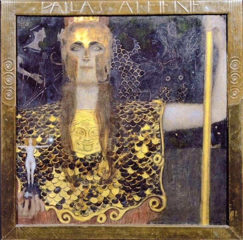 Athéna Pallas Klimt_10
