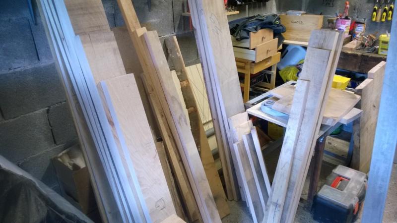 Commande de lit double avec tiroirs Wp_20117