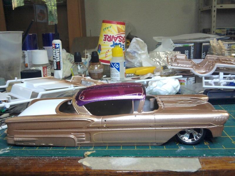 "Impala 58 lowriders ""El cardenal"" terminée  2014-017"