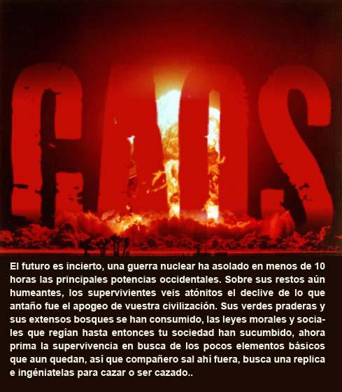 """""""CAOS"""" GUION PARA POCOS JUGADORES 5_110"""