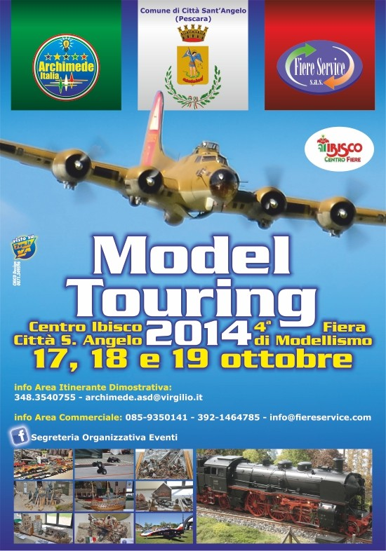 MODEL TOURING 2014 - 4° FIERA MODELLISMO Manife10