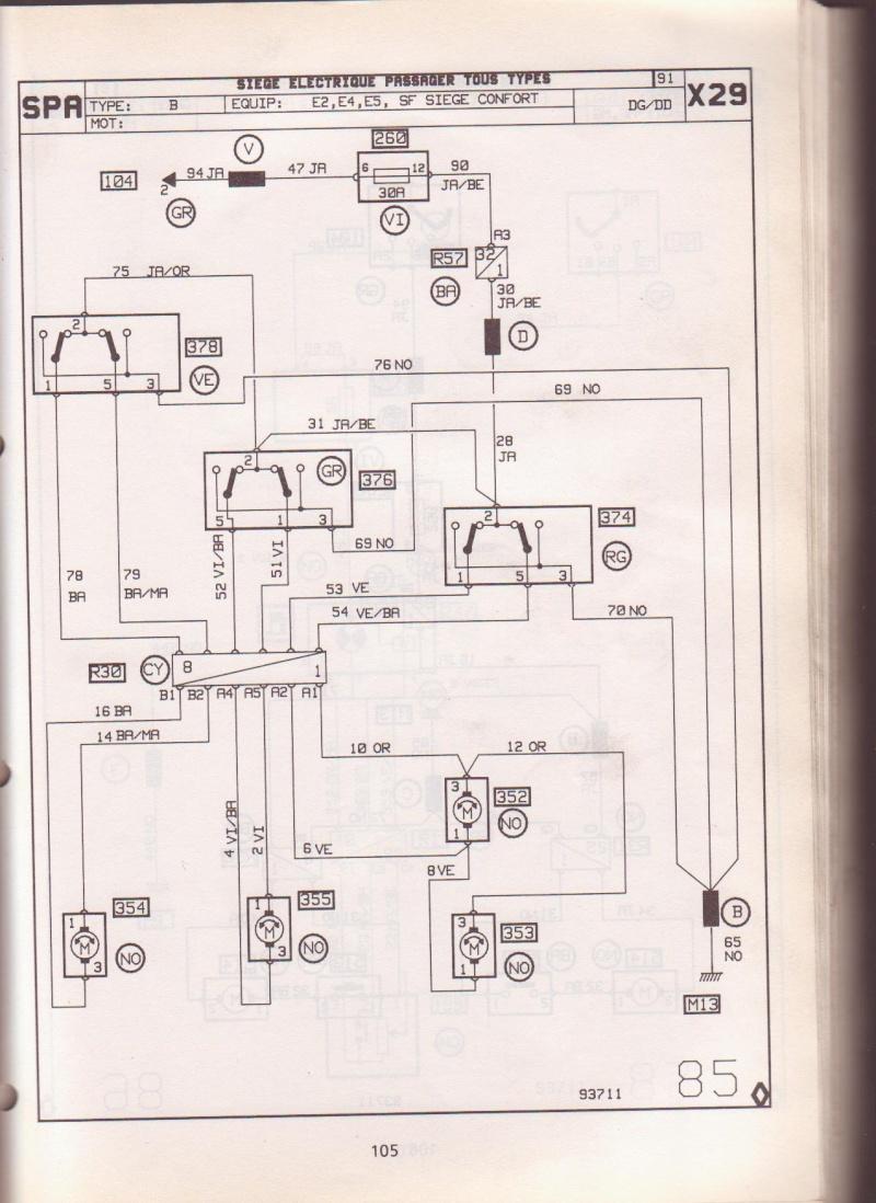 sieges en cuir electriques dans une r25 GTD Photo_11
