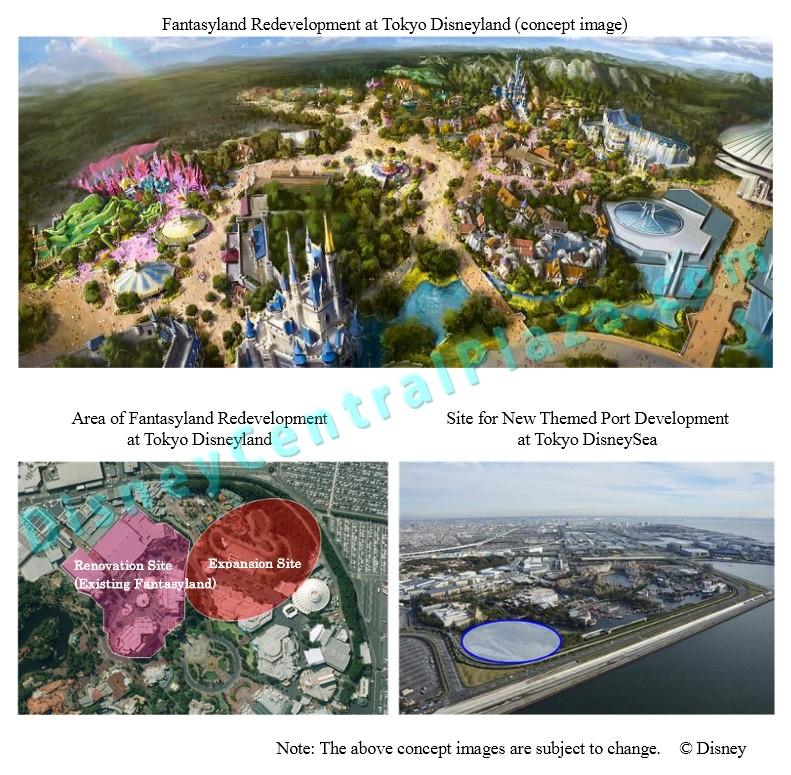 [Tokyo Disney Resort] Plan d'investissement incluant New Fantasyland et nouveau port à Tokyo DisneySea (2014-2024)  Tdl10