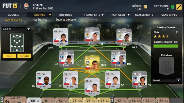 Fifa 15 Ultimate team Tfut10