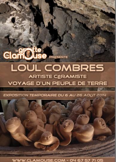 Loul Combre à la grotte de Clamouse Loul10