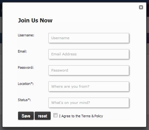 Register in Pop up v1 Reg_po10
