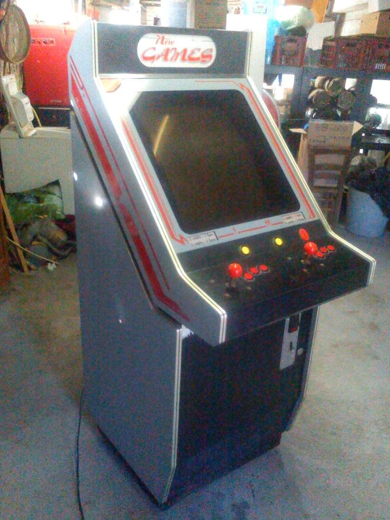 [Repar] Borne d'arcade sans son et artefact à l'écran + boutons HS Borne10