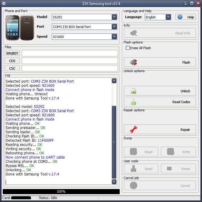 Samsung S5292 SimLock Done  30c60w10