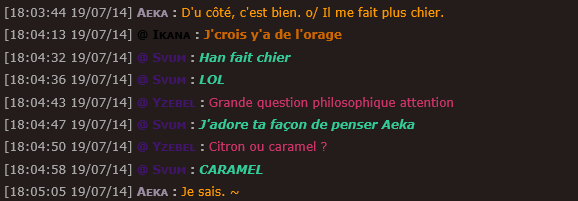 ~  ! Best Of Chatbox !  ~ Lac12