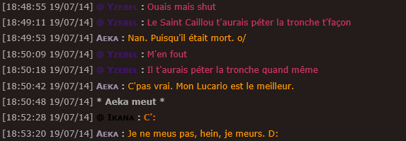 ~  ! Best Of Chatbox !  ~ Lac25