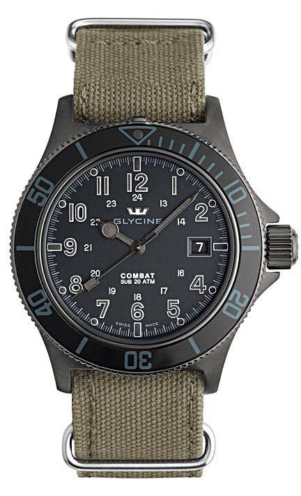 Cherche montre style baroudeur/militaire Glycin10