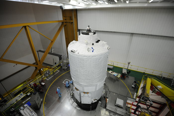 "Lancement Ariane 5 - VA219 / ATV-5 ""Georges Lemaître"" - 29 juillet 2014 - Page 3 1120"