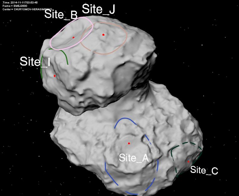 Rosetta : Mission autour de la comète 67P/Churyumov-Gerasimenko  - Page 5 115