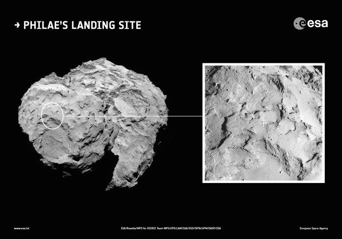 Rosetta : atterrissage et mission de Philae (Sujet N°1) 1182