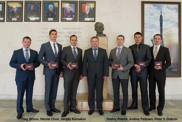 Le nouveau groupe de cosmonautes russes (sélection 2012) 135