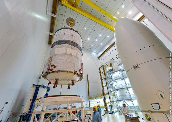 "Lancement Ariane 5 - VA219 / ATV-5 ""Georges Lemaître"" - 29 juillet 2014 - Page 2 145"
