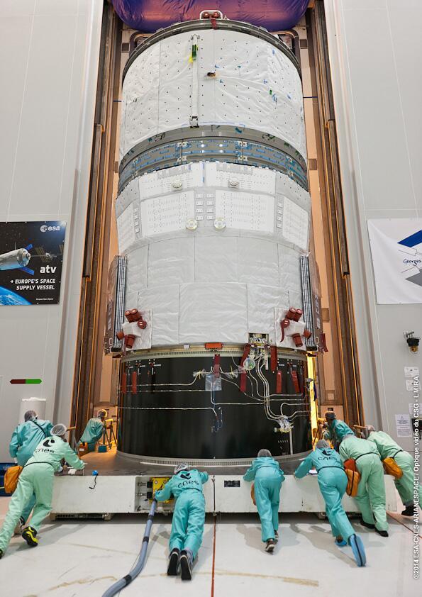 "Lancement Ariane 5 - VA219 / ATV-5 ""Georges Lemaître"" - 29 juillet 2014 - Page 2 146"