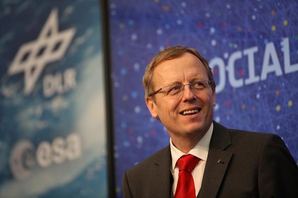 Johann-Dietrich Woerner - Directeur général de l'ESA 261