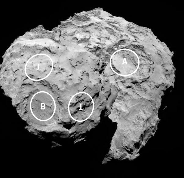 Rosetta : atterrissage et mission de Philae (Sujet N°1) Scree172