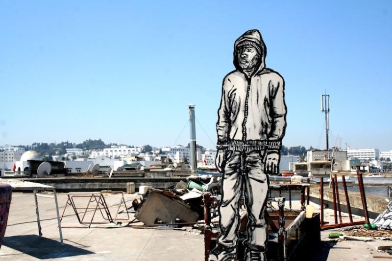 Bilal Berreni (alias Zoo Project). Hommage à un peintre urbain  4010