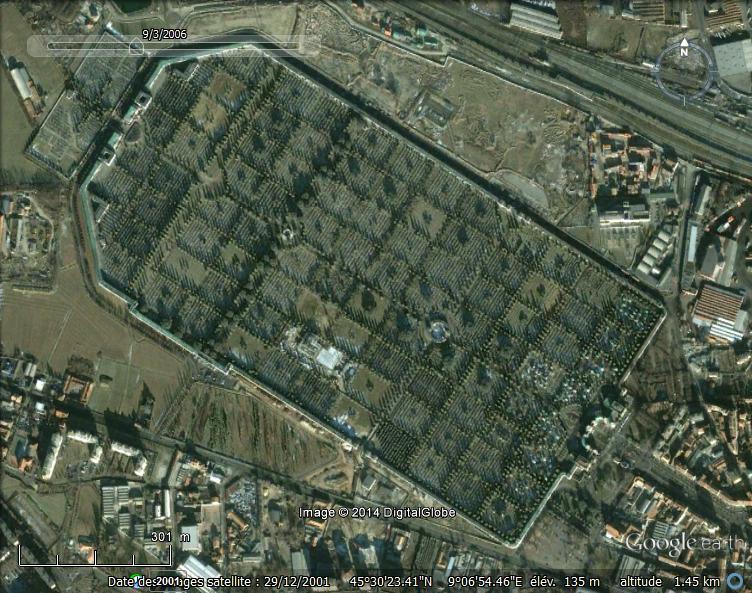 Immense cimetière, Bagneux, Ile de France - France 5110