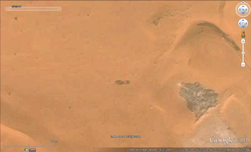 Empreinte de pas - Algérie Rep510