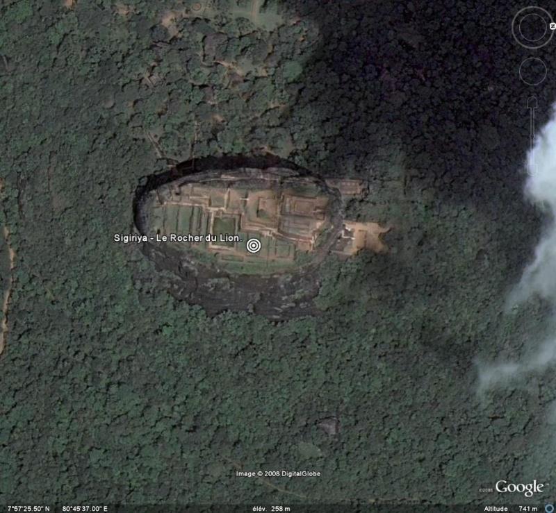 Sigiriya - Le Roc du Lion - Sri-Lanka - Ceylan. Sigiri10
