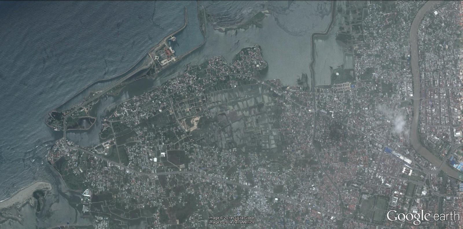 Banda Aceh, Tsunami 2004 avant / aprés - Indonésie Tsunam10