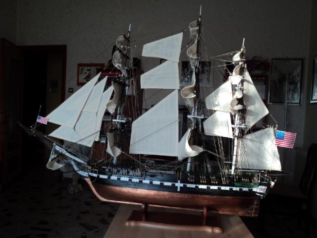 constitution - Lavori terminati, USS Constitution, Soleil Royal, HMS.Victory. Dsc00710