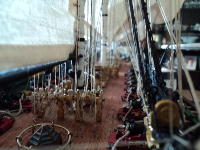 constitution - Lavori terminati, USS Constitution, Soleil Royal, HMS.Victory. Dsc00713
