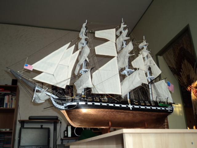 constitution - Lavori terminati, USS Constitution, Soleil Royal, HMS.Victory. Dsc00714