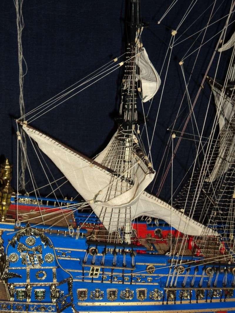 constitution - Lavori terminati, USS Constitution, Soleil Royal, HMS.Victory. Dsc03610