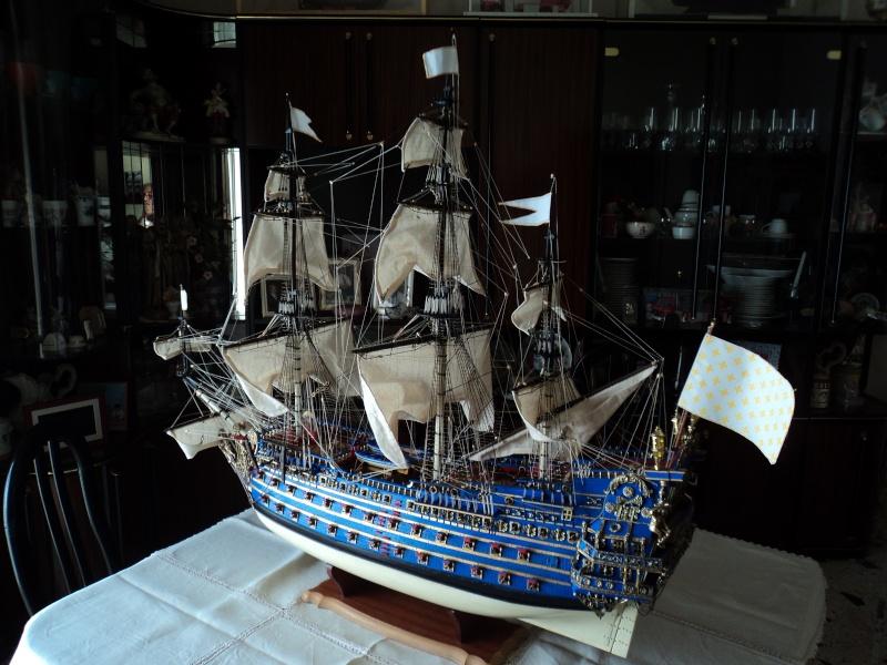 constitution - Lavori terminati, USS Constitution, Soleil Royal, HMS.Victory. Dsc03611