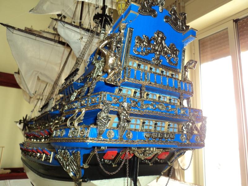constitution - Lavori terminati, USS Constitution, Soleil Royal, HMS.Victory. Dsc03614