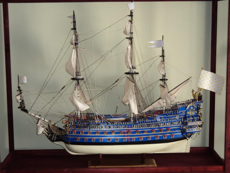 constitution - Lavori terminati, USS Constitution, Soleil Royal, HMS.Victory. Dsc03619