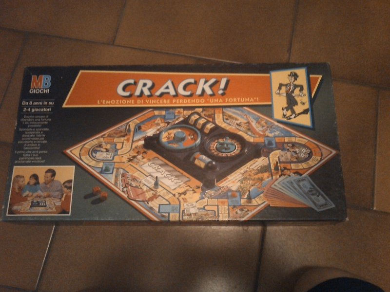 VENDO gioco in scatola CRACK MB 2014-082