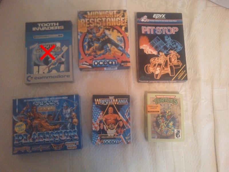 Cerco vecchi videogiochi e qualche rivista Commod10